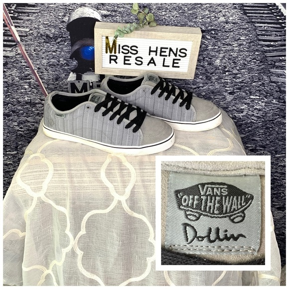 Vans Shoes Mens Retro Vans Off The Wall Dustin Dollin Shoes Poshmark